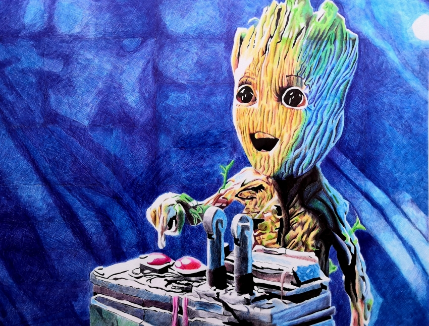Groot by AliemeArt